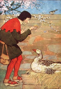 goose golden eggs