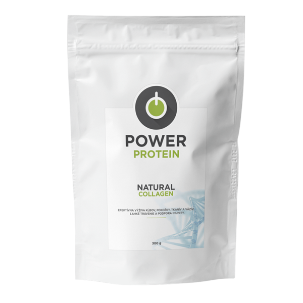 Powerlogy Natural Collagen, 300g