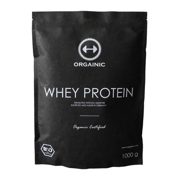 Orgainic Whey Protein, 1kg
