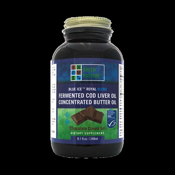 Green Pasture Blue Ice Royal Blend, Maslový/treščí olej