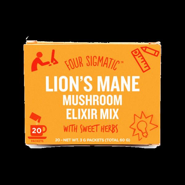Four Sigmatic Lion's Mane Mushroom Elixir