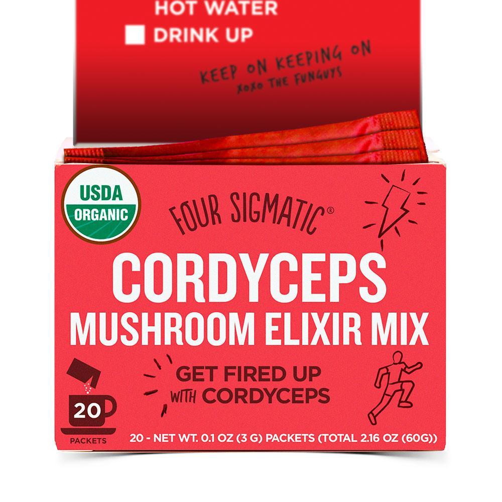 Four Sigmatic Cordyceps Mushroom Elixir, 20 dávok