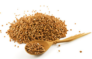 Buckwheat-and-spoon