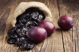 plums +dried